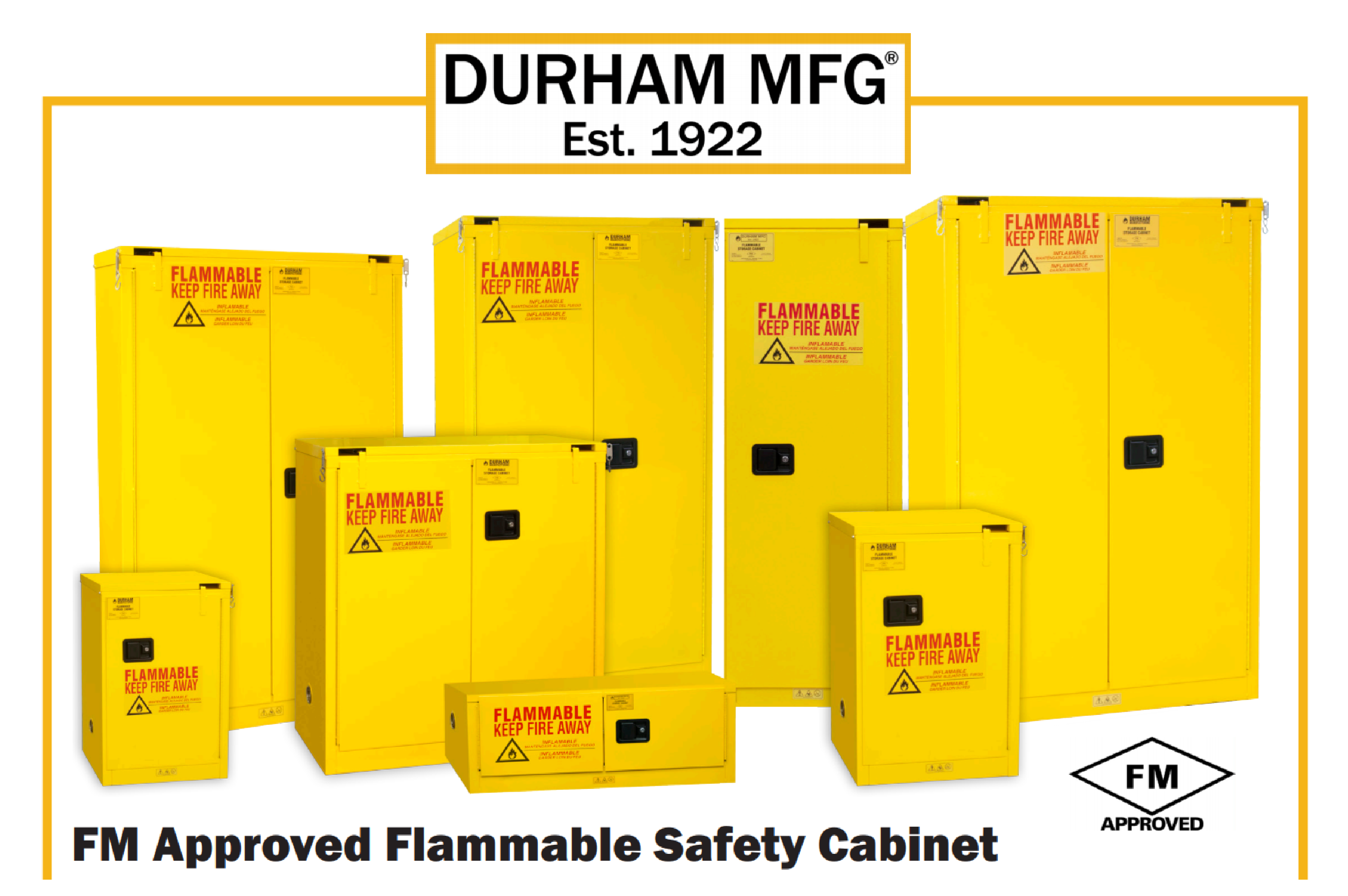 DURHAM MFG® – Flammable Storage Cabinet